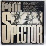 Phil Spector - The Wall of Sound. 9 Disc Box Set. Outer box showing signs of wear. Vinyl and album