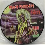 Iron Maiden picture disc album. Released in 1998 this is the original EMI issue. In VG+ condition.