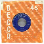 Original 1963 Rolling Stones demo first single 'Come on' found here on Decca F.11675 and in VG+