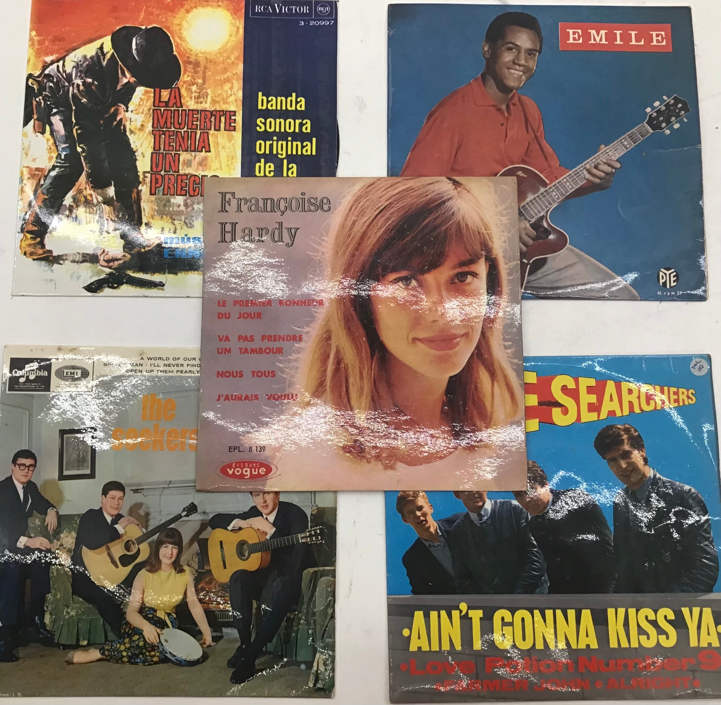 Selection of 20 E.P. RECORDS RELATING TO THE 50?s & 60?s. To include - The Who - Joan Baez - The - Image 2 of 5