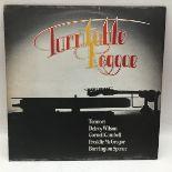 Turntable Reggae vinyl lp record. A various artist album on Bigshot BILP 104 and found in VG+