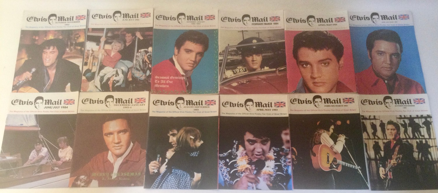ELVIS PRESLEY COLLECTION OF FAN MAGAZINES. 13 copies of Elvis Mail mags - 27 copies of Elvis - Image 3 of 4
