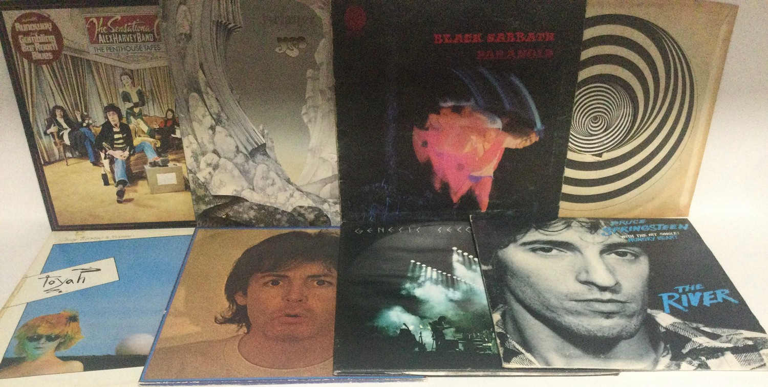 VARIOUS ROCK RELATED ALBUMS IN CARRY CASE. This box contains albums from artist?s to include - - Image 3 of 3