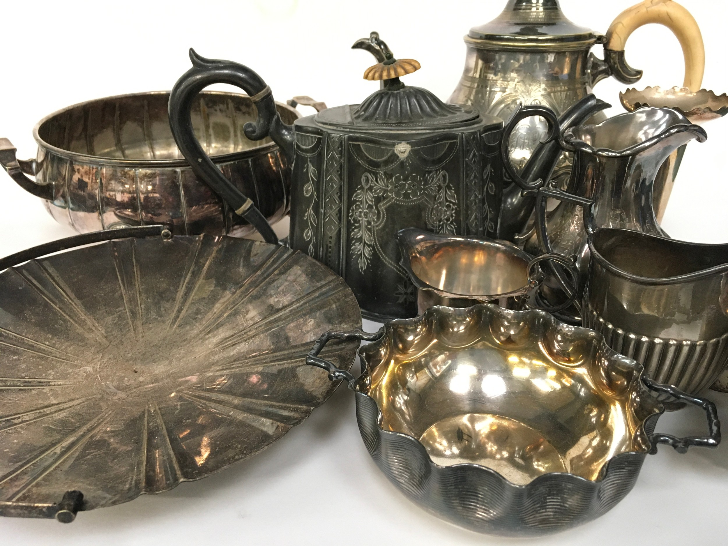 Large quantity of silver plated items - Image 2 of 5