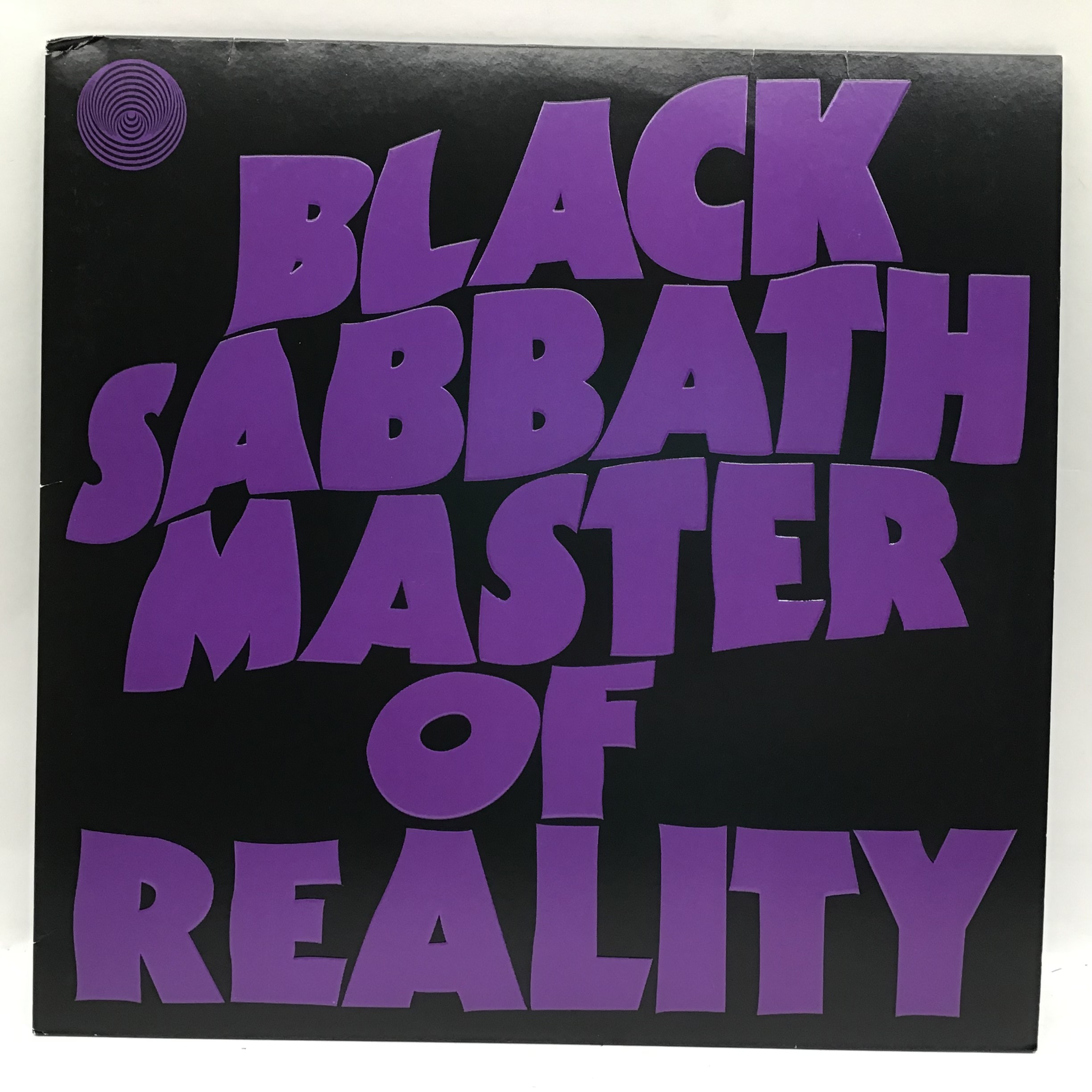 Black Sabbath ?Master of Reality? HMV exclusive and limited to 500 copies. Released on purple