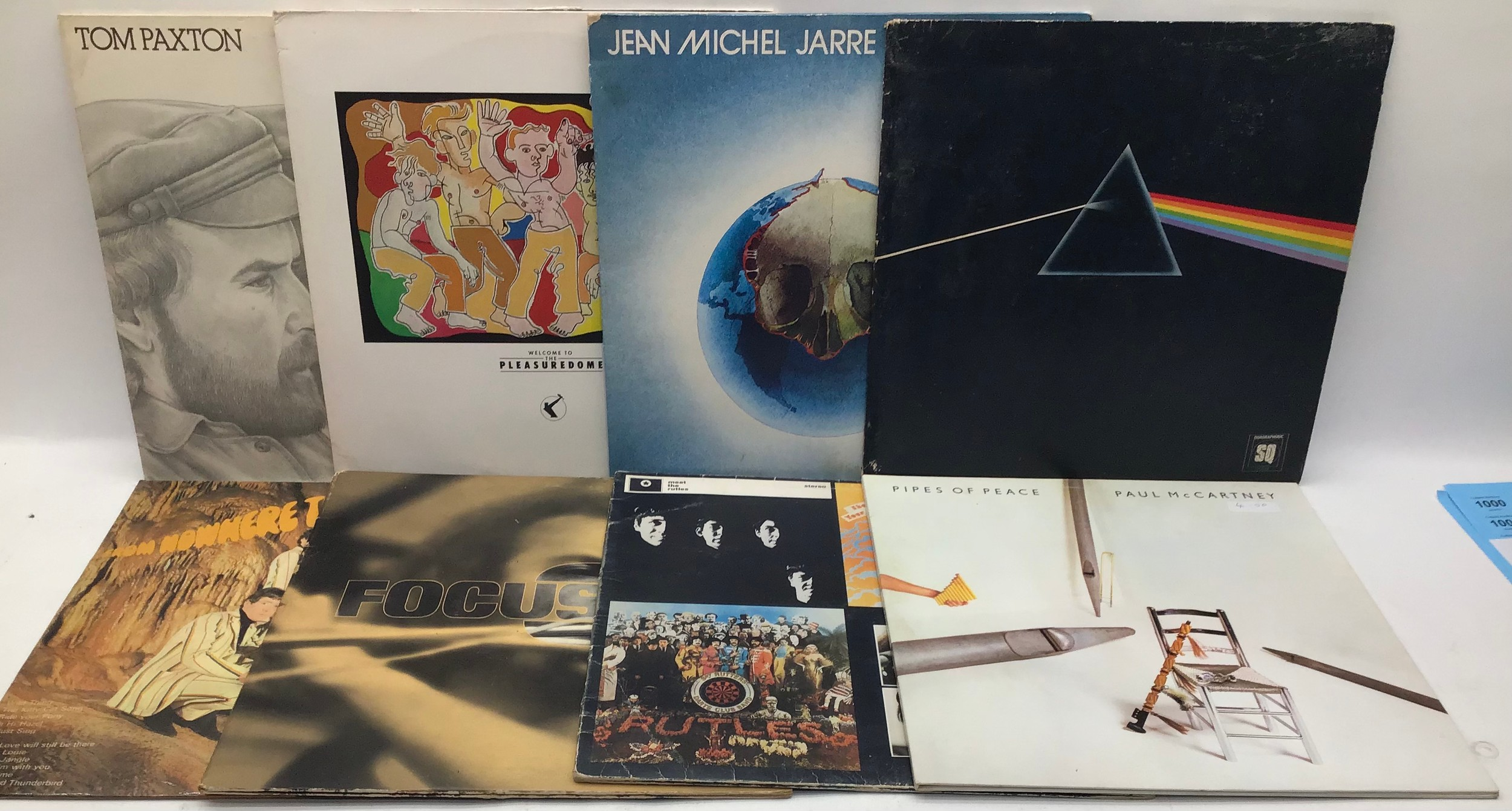 BOX OF VARIOUS ROCK / POP LP RECORDS. Artist?s in this collection include - Tony Coe - Eric Burdon - - Image 4 of 4