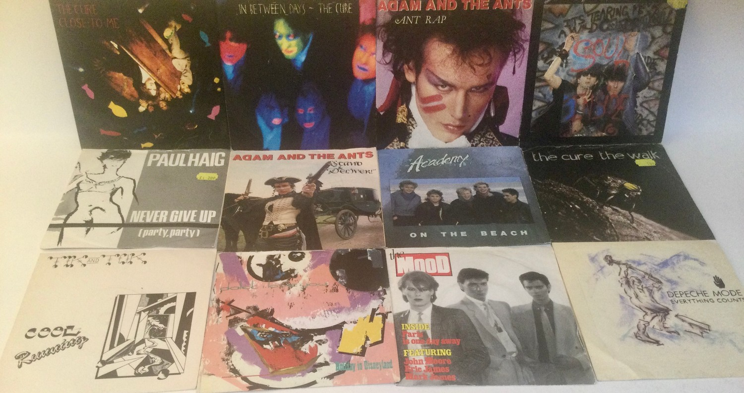 LARGE BOX OF VARIOUS 7? VINYL SINGLE RECORDS. Mainly found in VG+ conditions and containing many - Image 4 of 4