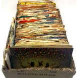 COLLECTION OF VARIOUS 7? HIT SINGLES FROM THE 1960?s. This lot contains many original vinyl?s to