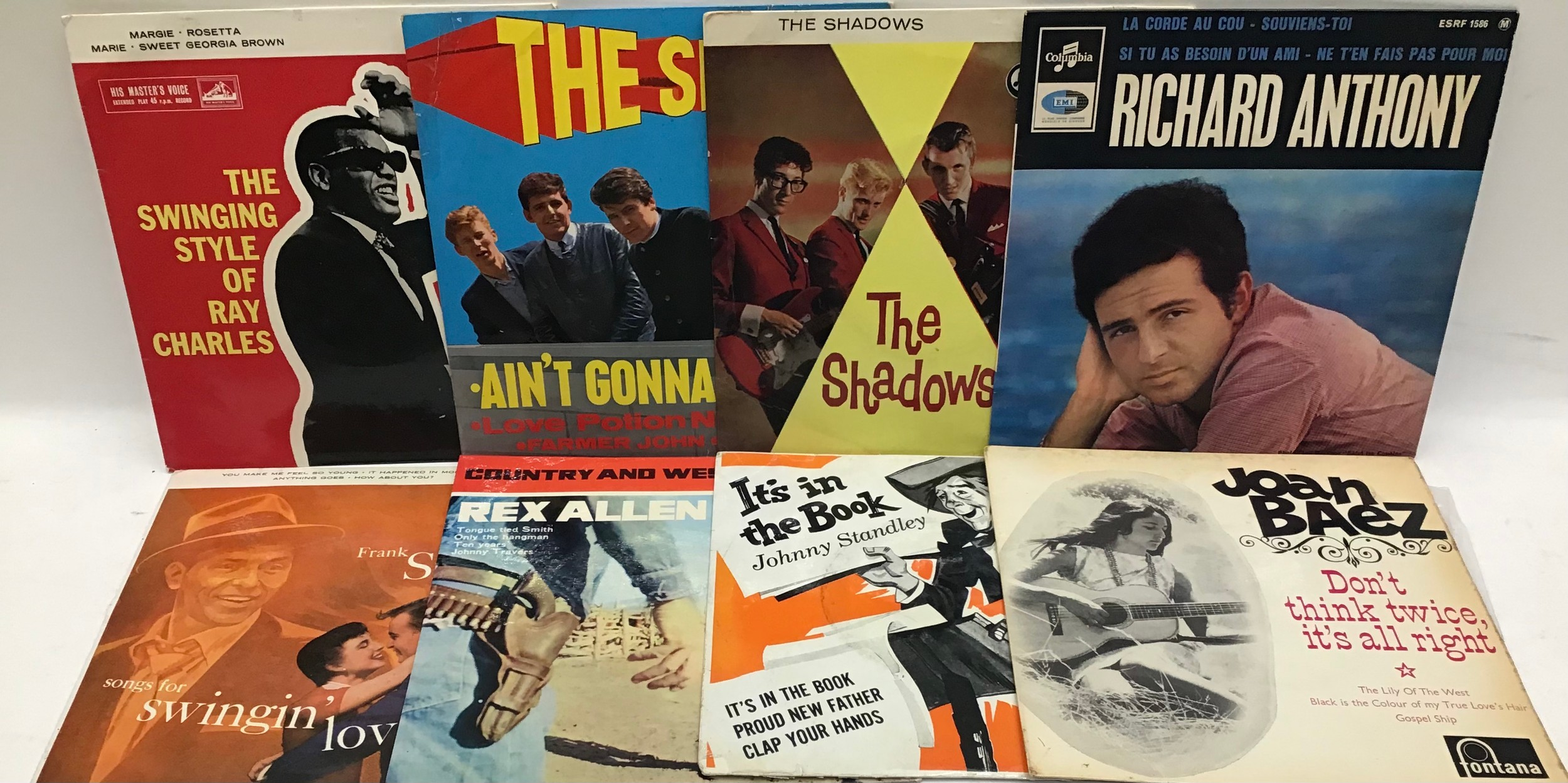 20 x Vinyl EP records from the 50?s and 60?s all rated VG/VG+. - Image 2 of 2