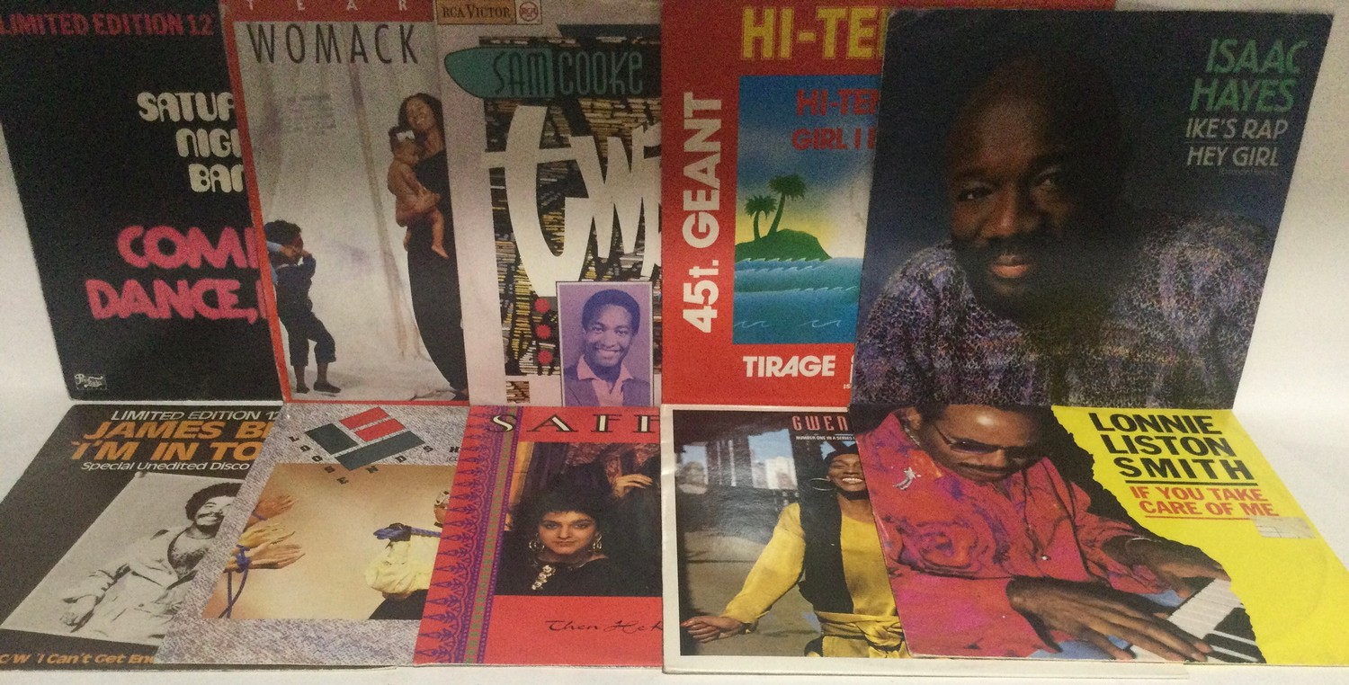 DISCO / FUNK 12? VINYL SINGLES. Great selection of extended play records here to include hits from - Image 3 of 3