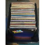 LARGE COLLECTION OF VARIOUS ROCK AND POP VINYL ALBUMS. This lot contains many records spanning the