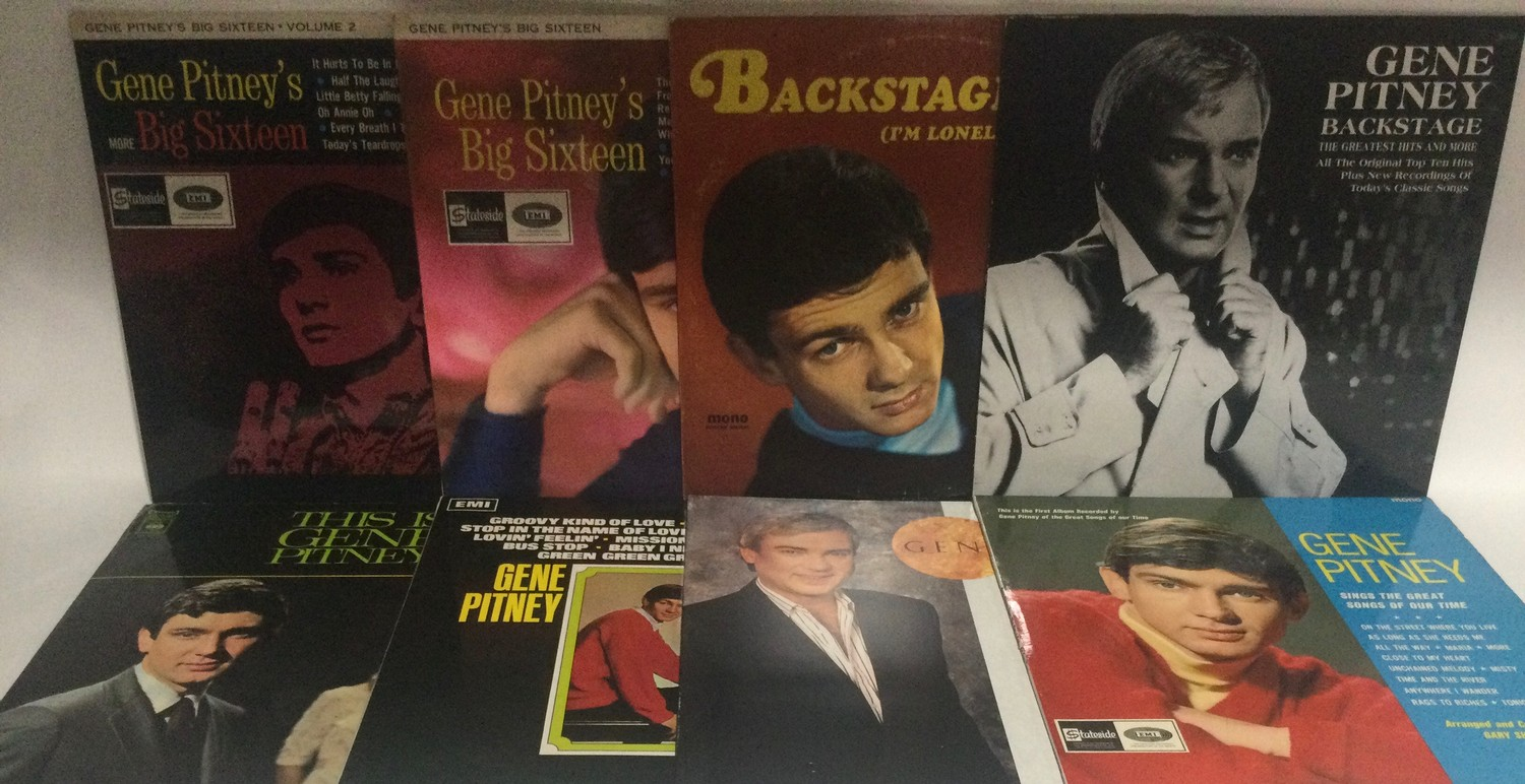 GENE PITNEY VINYL LP RECORDS. A NICE COLLECTION OF VARIOUS 60?s and 70?s albums on English and US - Image 3 of 3