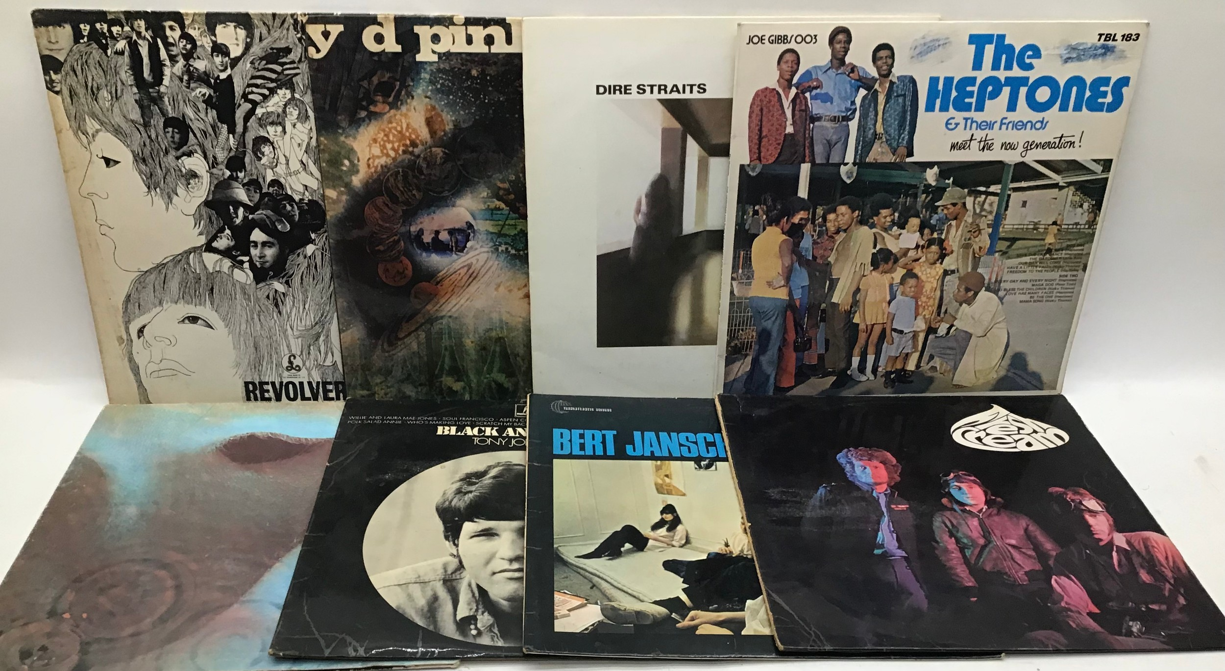 BOX OF VARIOUS ROCK / POP LP RECORDS. Artist?s in this collection include - Tony Coe - Eric Burdon - - Image 3 of 4