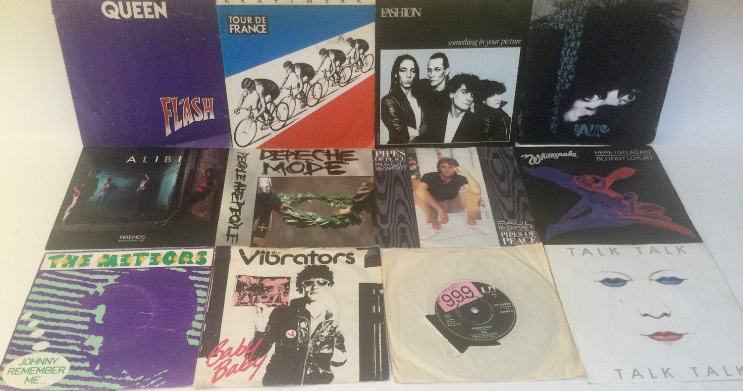 LARGE BOX OF VARIOUS 7? VINYL SINGLE RECORDS. Mainly found in VG+ conditions and containing many - Image 3 of 4