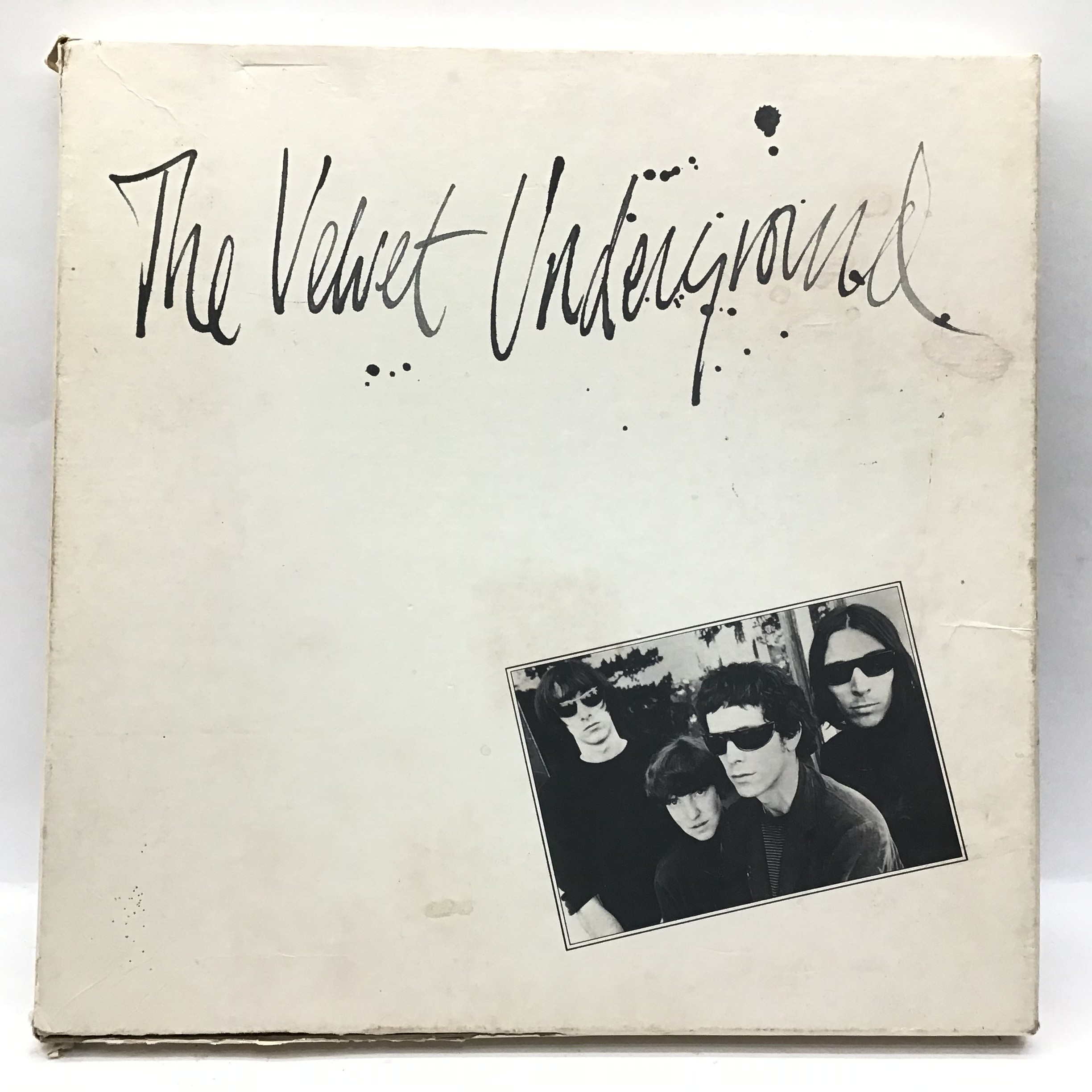 The Velvet Underground Vinyl 5 LP Box Set from 1986 complete with booklet and info sheet. Found here