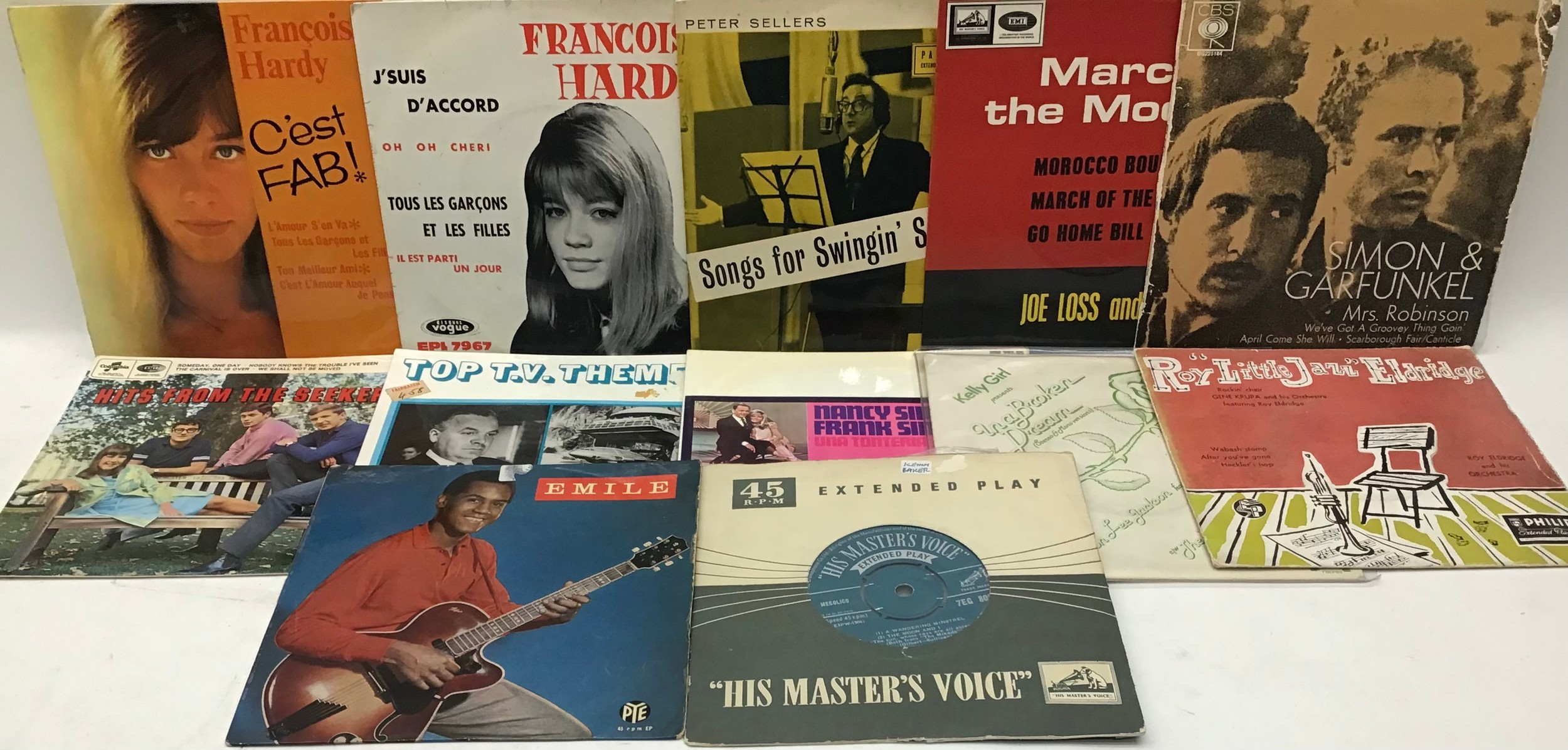 20 x Vinyl EP records from the 50?s and 60?s all rated VG/VG+.