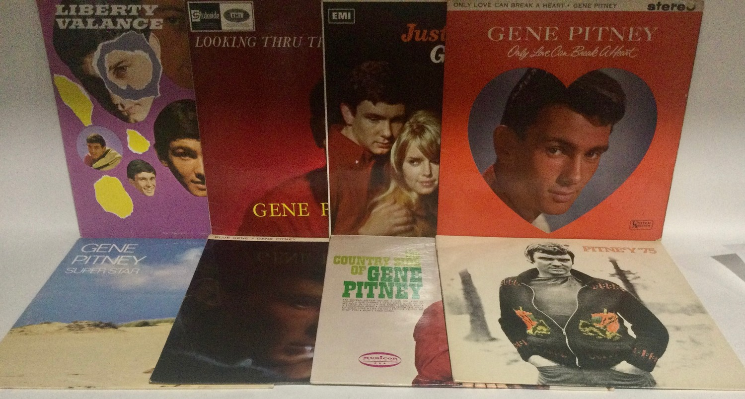 GENE PITNEY VINYL LP RECORDS. A NICE COLLECTION OF VARIOUS 60?s and 70?s albums on English and US - Image 2 of 3