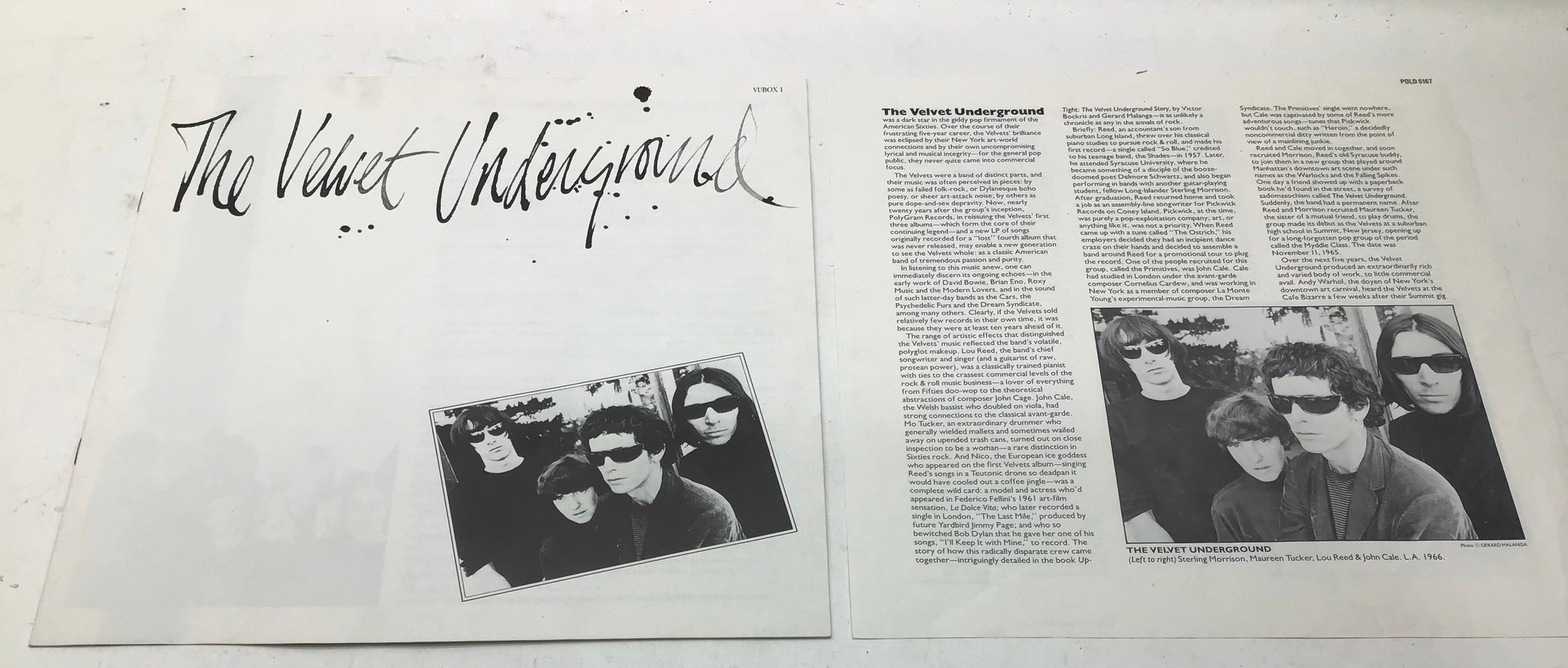 The Velvet Underground Vinyl 5 LP Box Set from 1986 complete with booklet and info sheet. Found here - Image 5 of 7