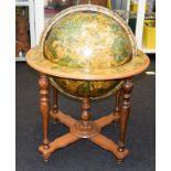Globe Revolving drinks cabinet 100x60cm