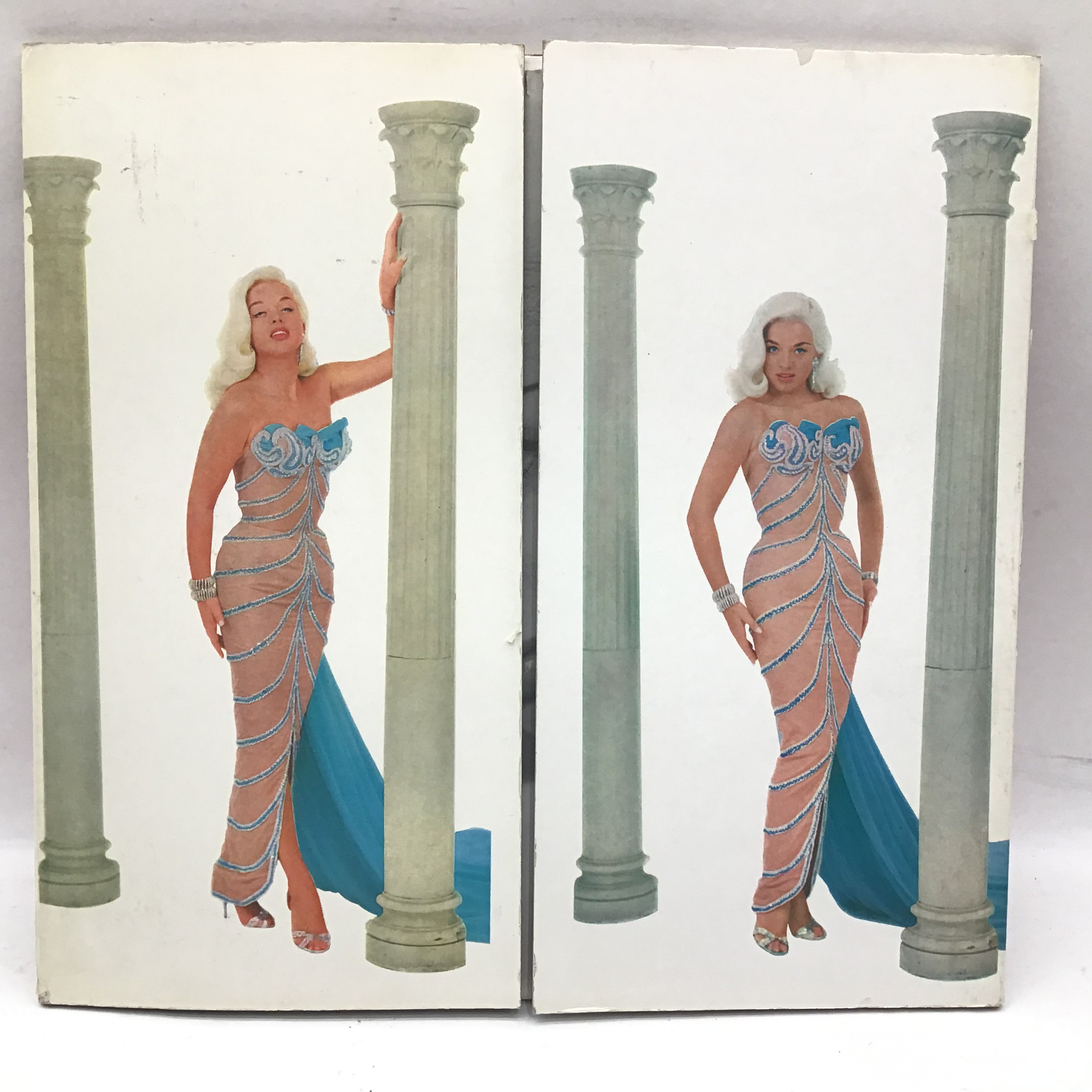 DIANA DORS vinyl lp on Pye NPL 18044. This ?Swingin? Dors? album is pressed on a red coloured