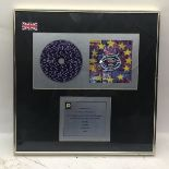 U2 ZOOROPA (Official 1994 UK Island in-house award presented for sales in the UK of more than 500,
