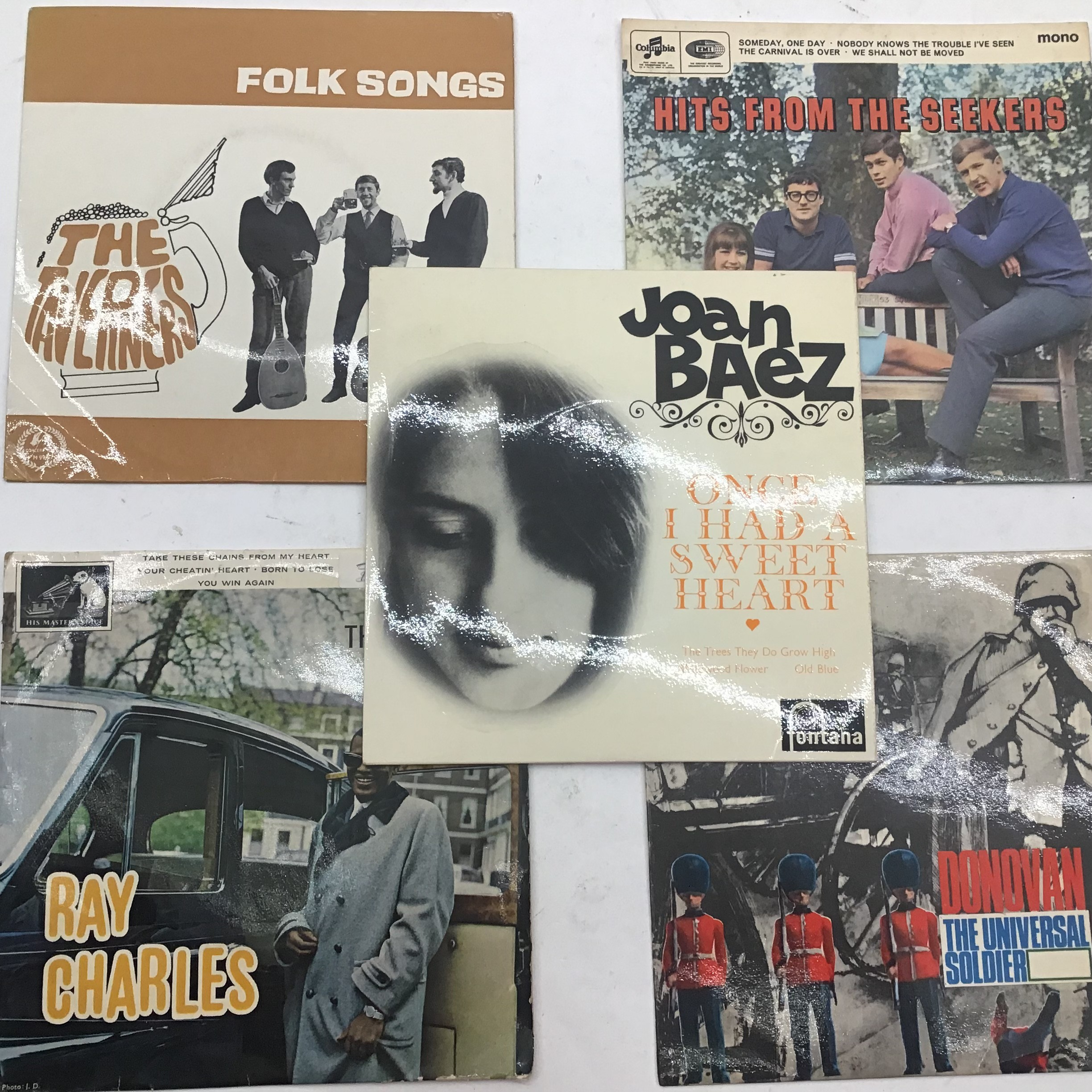 Selection of 20 E.P. RECORDS RELATING TO THE 50?s & 60?s. To include - The Who - Joan Baez - The - Image 4 of 5