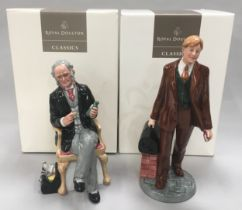 Royal Doulton Classics Doctor HN4286 together with The Doctor HN2868