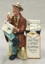 Royal Doulton figurine, Stop Press, HN2683