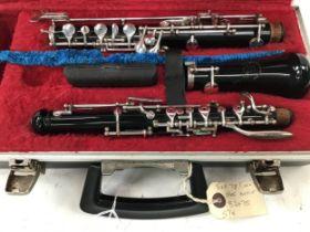 Boosey & Hawkes model 78 Oboe in case.