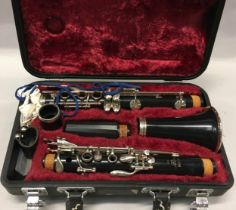 Yamaha cC100 clarinet appears complete but untested c/w carry case