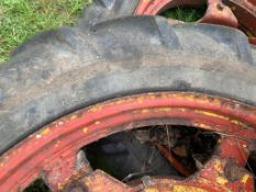 ROWCROP WHEELS AND TYRES, 8.3/8 R32 AND 9.
