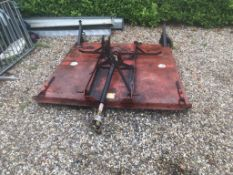 6 FOOT TOPPER, LINKAGE MOUNTED, PTO,