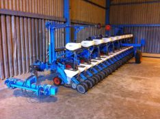 2014 MONOSEM MECA 18 ROW V4 DRILL, LAST USED IN 2018 FOR DRILLING SUGAR BEET, MULCH KIT, CABLES,