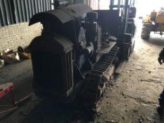 SCHNEIDER CRAWLER, FRENCH ENGINE (NOT ORIGINAL),