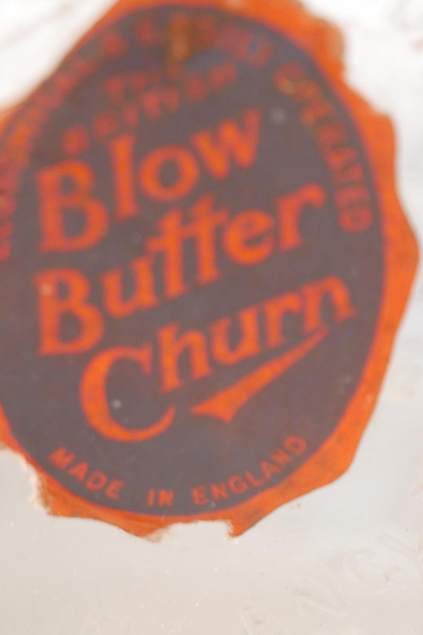 """A vintage 'Blow E-75' electric butter churn, 19"""" high (no paddle) - Image 2 of 4"""