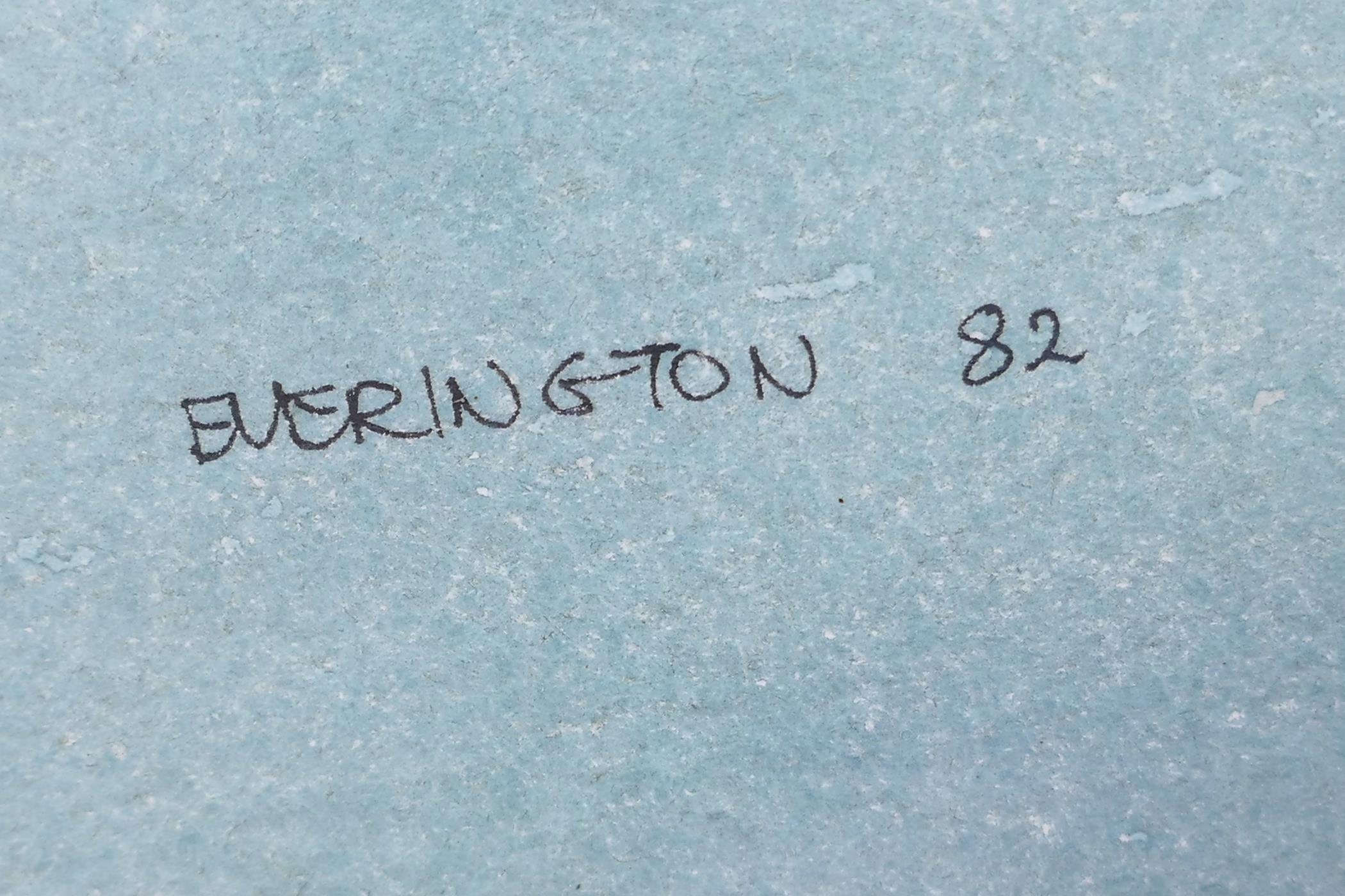 "Berrington, Venetian scene, signed and dated '82, watercolour, 21"" x 13½"" - Image 3 of 3"