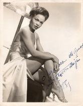 Eartha Kitt (American, 1927-2008) - American singer, dancer, actor, comedienne and activist