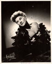 Hildegarde (American, 1906-2005) – American cabaret singer known as the 'Incomparable Hildegarde',