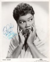 Pearl Bailey (American, 1918-1990) – American actress and singer, winner of a Tony award