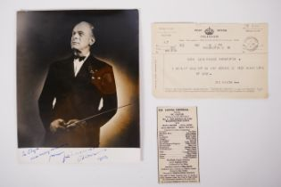 Vic Oliver (Austrian/British, 1898-1964) actor, composer and conductor
