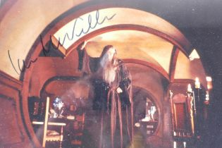 A signed photograph of Sir Ian McKellen as Gandalf in Lord of the Rings/The Hobbit, with certificate
