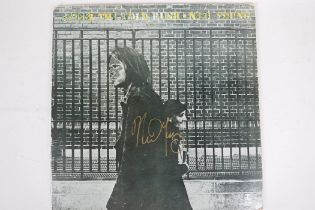 """Neil Young, 12"""" vinyl album 'After The Gold Rush', cover signed by Neil"""