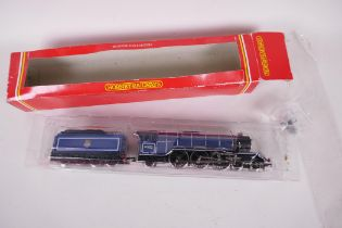 """A Hornby 4-6-2 Locomotive and tender 00 guage, 'Prince Palatine', 12"""" long, in original box"""