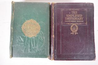 One volume, The Family Shakespeare by Thomas Bowdler, 4th Edition 1863, together with one volume,
