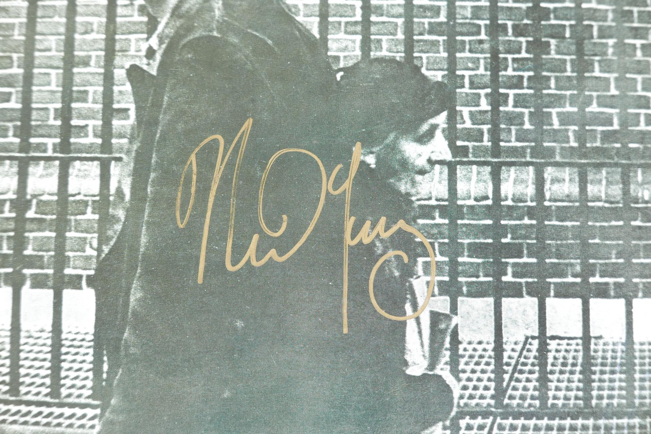 """'After the Gold Rush' 12"""" vinyl, the cover signed by Neil Young, with three Neil Young posters - Image 3 of 3"""