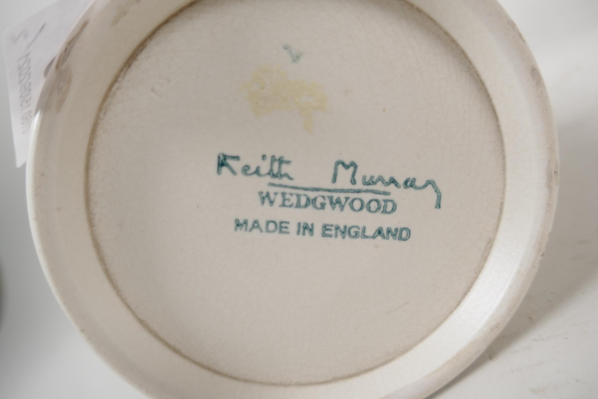 """Two Wedgwood Keith Murray tankards, 4½"""" high - Image 3 of 4"""