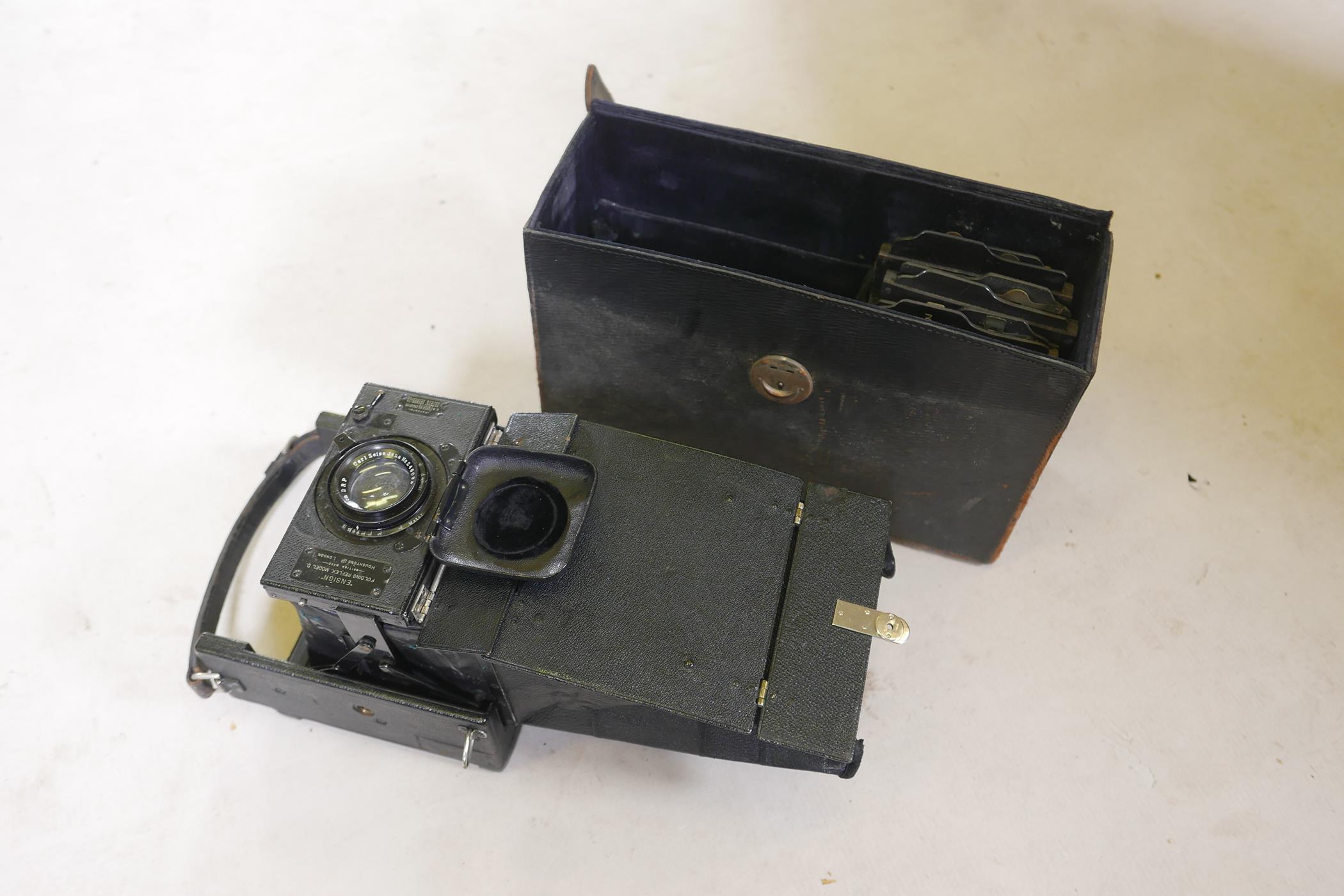 A quantity of antique photography equipment, Engsign Klito, Kodak Duaflex, No2 Hawkeye Model B, - Image 8 of 12