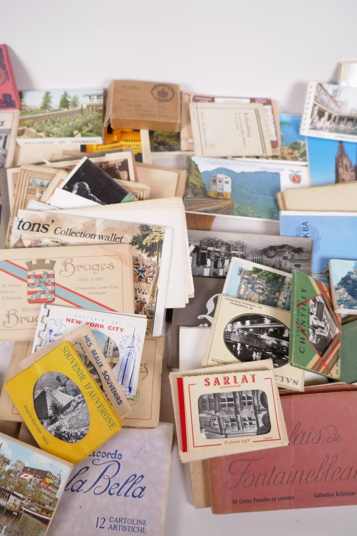 A collection of postcards, mainly topographical to include USA approx 800, and a collection of - Image 3 of 10