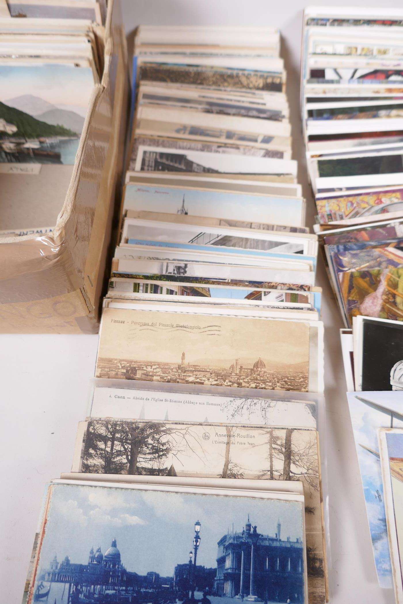 A collection of postcards, mainly European topographical, approx 750, and a further quantity of - Image 3 of 10