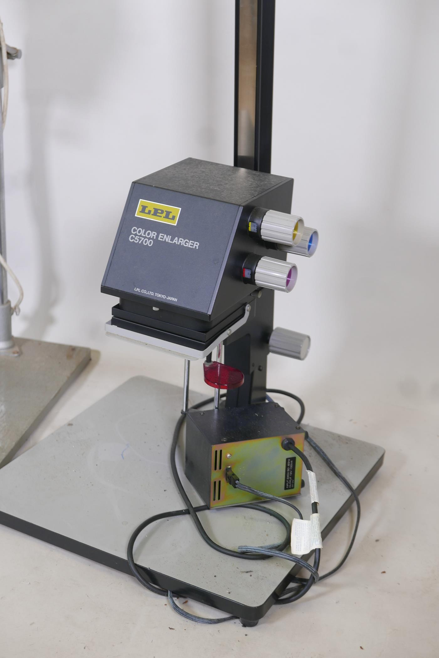 A Gamma 35 photographic enlarger, a LPL C5700 colour enlarger and another with timer - Image 2 of 3
